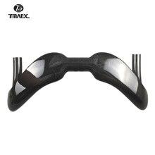 Yeni tip bükülmüş çubuk ray CarbonHandlebar damla Bar 3k parlak/mat Finish 31.8MM * 370/385MM yarışları çubukları bisiklet parçaları Ultra hafif
