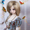 Newest Soft Long Doll Hair High Tempreture Wire Synthetic Mohair BJD Doll Wigs Popular Doll Accessories Hot Selling 086