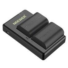 Neewer LP-E6 LP-E6N Замена Перезаряжаемые Батарея зарядки набор для Canon