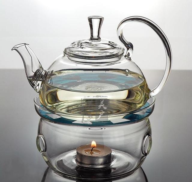Glass Teapot 600ml Tea Sets Teapot With Filter 2 Double