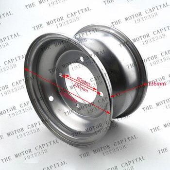 Wysoka wydajność 19X7-8 cal 18*9.5-8 cal biały 4 otwór aluminium piasty koła dla ATV akcesoria
