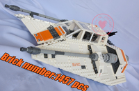 05084 Star Wars Series Snowspeeder Lepin Model Building Block Bricks Set Compatible 75144 10129 Classic Education