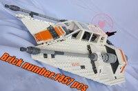 05084 Star Wars Series Snowspeeder Lepin Model Building Block Bricks Set Compatible 75144 10129 Classic Education