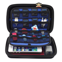Messenger Bag Nylon Shock Proof Digital Accessories Organize Bag PowerbankUSB Flash Drive Data Cable Cover Memory