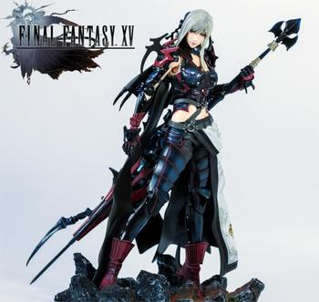 Original PLAY ARTS FINAL FANTASY XV FF15 Alanya Dragon Rider Action Figure new box in stock now High Quality