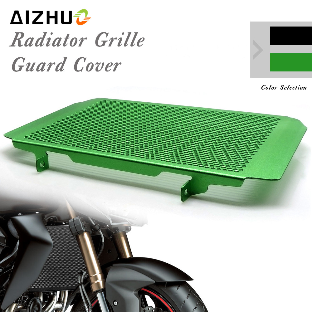 Moto Radiateur Garde Grille alliage Couvercle En Aluminium Pour KAWASAKI Z1000SX NINJA 1000 VERSYS 1000 z750 z 750 z800 z 800 z1000 sx