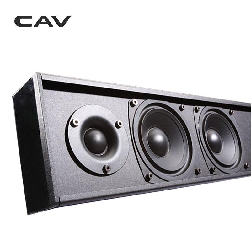 Электрические плиты CAV AL210 пассивный динамик Саундбар Колонка проводной 3,0 канал двухсторонний домашний кинотеатр пассивный динамик s Professinal ТВ динамик кино (Фото 3)