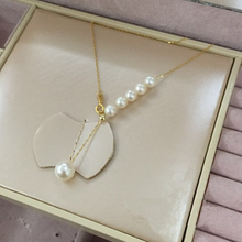 Female Pearl Pendant Necklace 2016 New Arrival Romantic Accessories Engagement Wedding Jewelry Elegant Women Chain