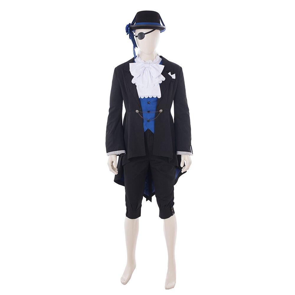 anime costume black butler ciel phantomhive cosplay costume men