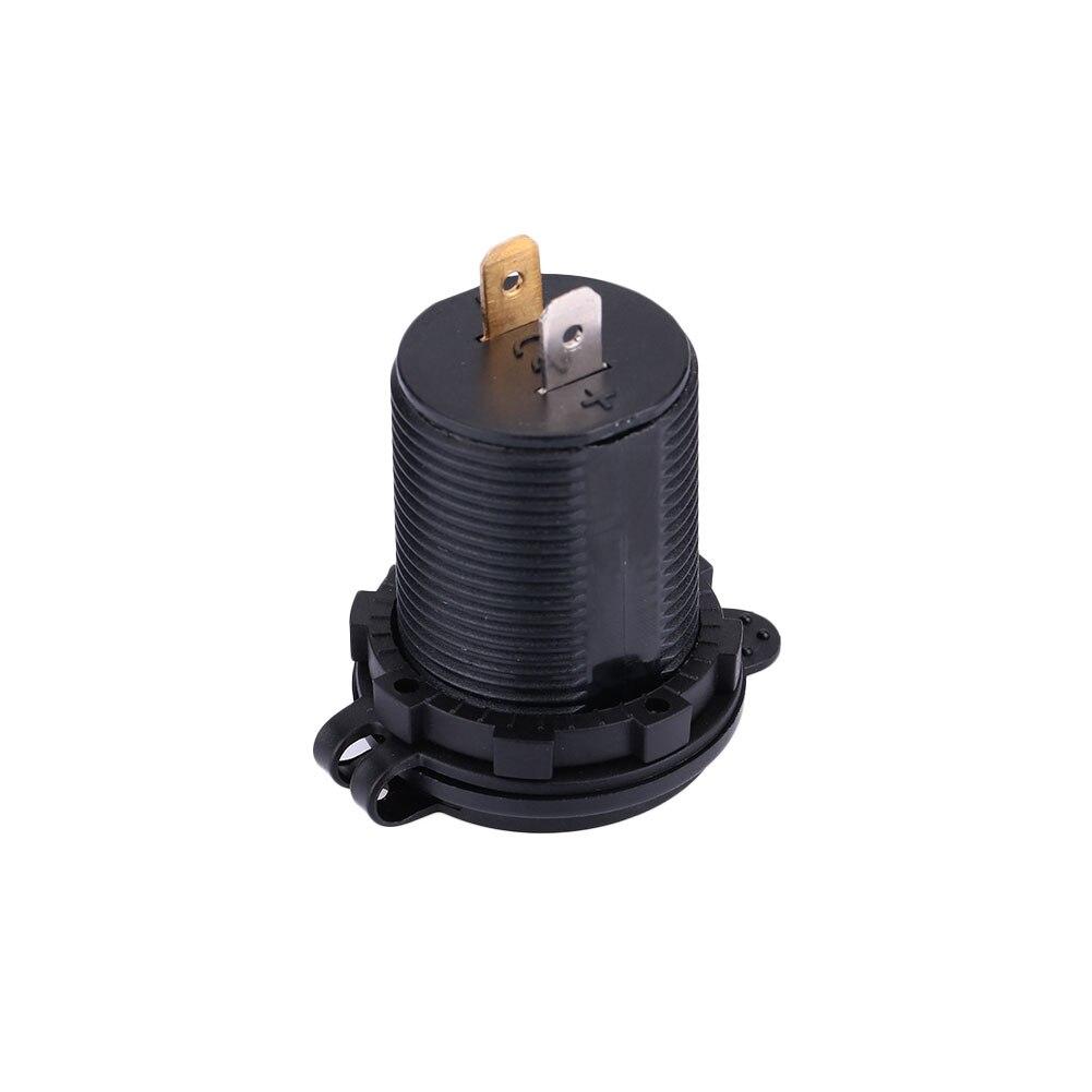 4.2A Dual USB автомобильное крепление прикуривателя Разветвитель зарядное устройство с вольтметром