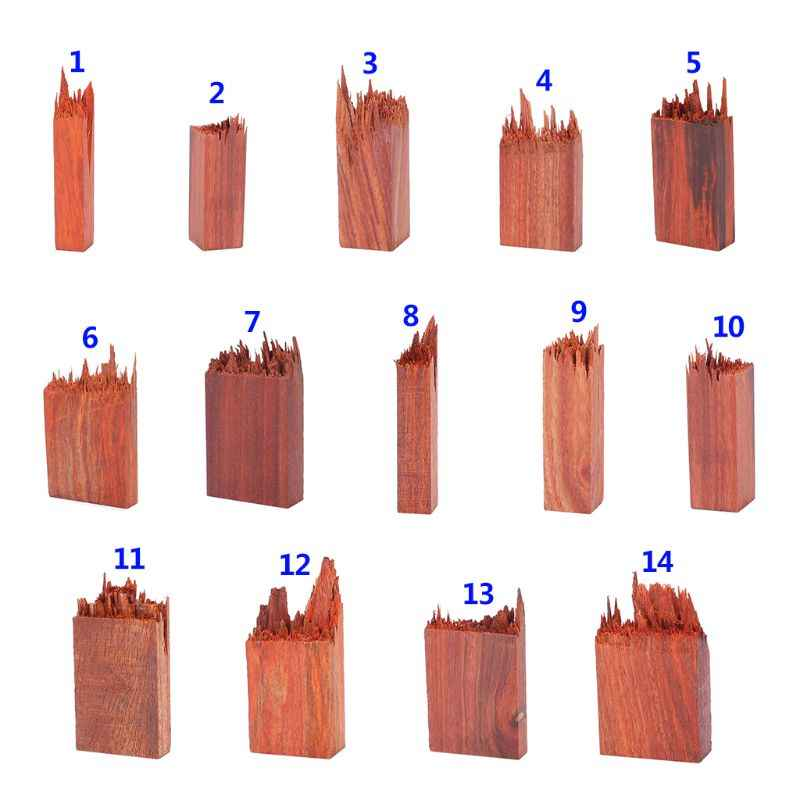 1PC di Resina Epossidica Mestiere di legno di Sandalo del Sangue di Fare Arte FAI DA TE Monili Che Fanno Della Collana Del Pendente Della Decorazione di Legno Naturale Artigianato Regali Fatti A Mano