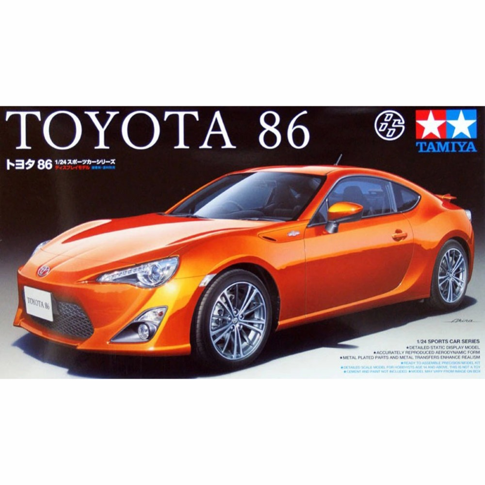 OHS Tamiya 24323 1/24 86 With Details Scale Assembly Car Model Building Kits G канифоль сосновая b10 91161