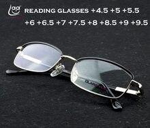 CLARA Full-rim haute qualité HD Super léger mode hommes femmes lunettes de lecture + 4.5 + 5 + 5.5 + 6 + 6.5 + 7 + 7.5 + 8 + 8.5 + 9 + 9.5 à + 12