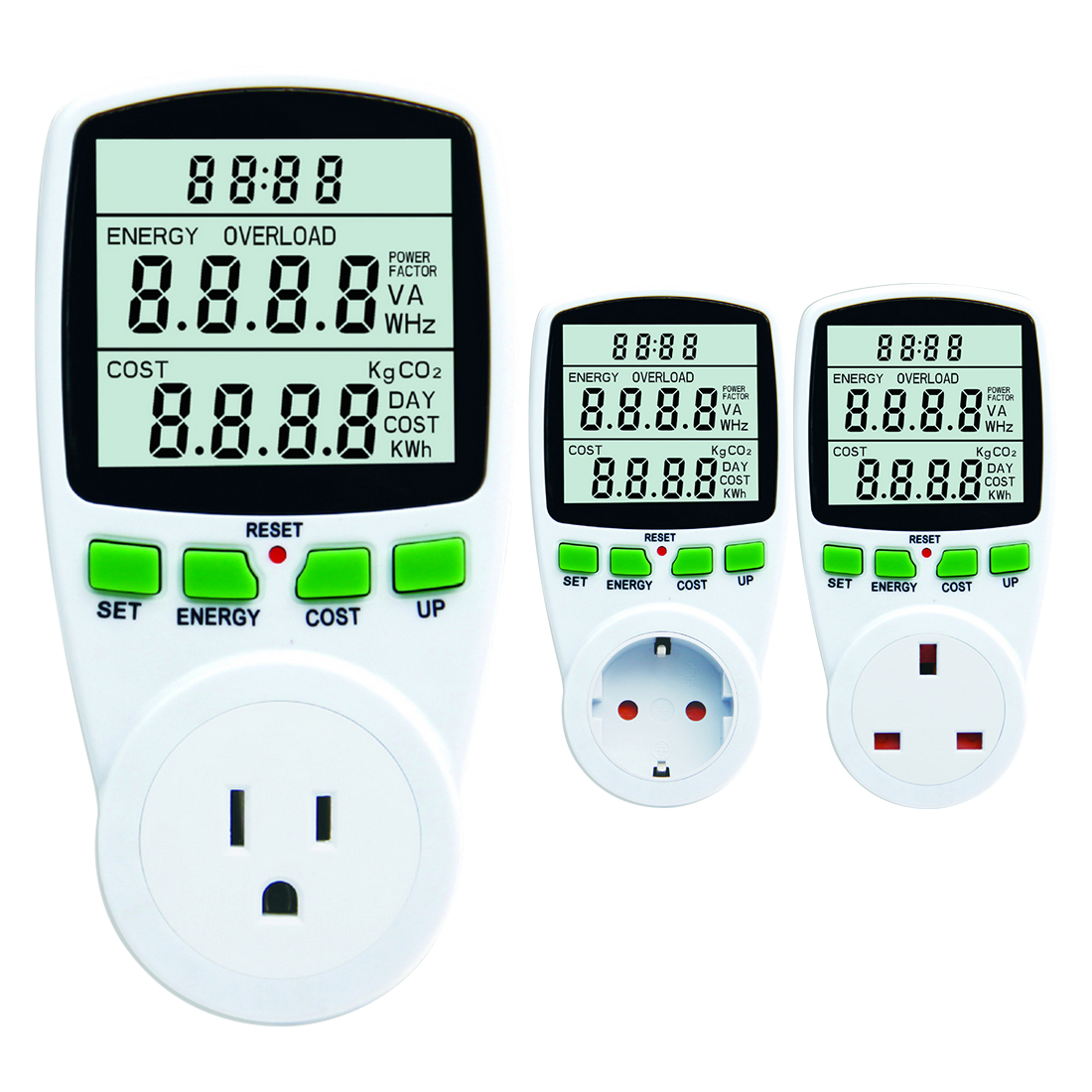 <font><b>Electricity</b></font> Consumption Measuring Socket Digital Wattmet Power <font><b>Meter</b></font> Electronic Energy <font><b>Meter</b></font> Voltage Wattmeter Power Analyzer image