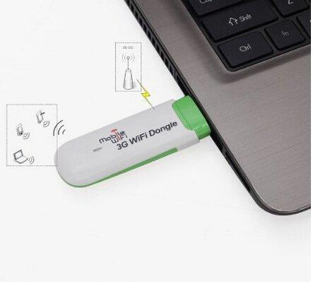 Mobile Hotspot 3G USB wifi dongle Modem 3G WiFi Carte SIM Routeur pour Voiture ou Bus