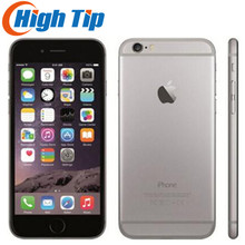 Apple iPhone 6, герметичная коробка, заводской разблокированный смартфон, двухъядерный, 4,7 дюймов, 128 Гб ПЗУ, 8 Мп, Мультитач, WCDMA, 4G, LTE телефон