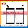 """Alta Qualidade 4.5 """"para micromax a104 canvas fire 2 smartphone touch screen digitador sensor de vidro da frente da lente preto frete grátis"""