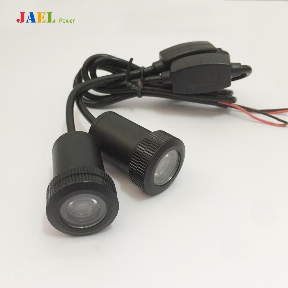 2PCs LED Car Door Ghost Shadow Light Courtesy led car laser projector Logo Case For Dodge light