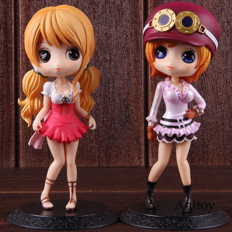 Q posket Hot Toys Anime One Piece Nami Koala Action Figure Collectible Model Toy Gift 1