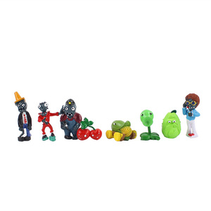 Image 4 - 14 styles Plants vs Zombies PVZ Toy Plants Zombies PVC Action Figures Toy Doll Set for Collection Party Decoration