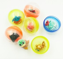 50Pieces/Lot Diameter:45mm Empty Plastic Toy Capsule Egg shell Colorful Ball Vending Machine