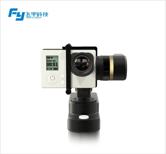 FY WG Wearable Metal Stabilizer Feiyu 3 Axis Brushless Gimbal For Gopro Hot Sale original feiyu tech fy wg lite wg series mental single axis wearable gimbal in stock