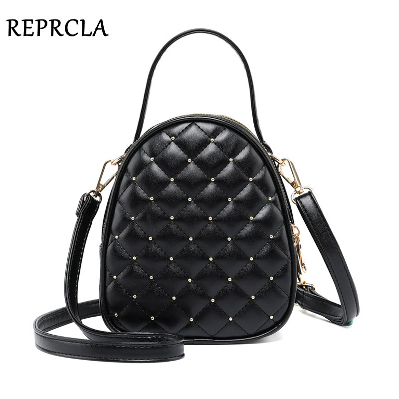 REPRCLA Luxury Handbags Women Bags Designer Small Shoulder Bag Fashion Plaid PU Leather Crossbody Bags For Women Messenger Bags