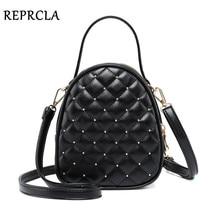 Reprcla Роскошные Сумки Для женщин сумки дизайнер небольшая сумка мода плед искусственная кожа Crossbody сумки для Для женщин Курьерские сумки