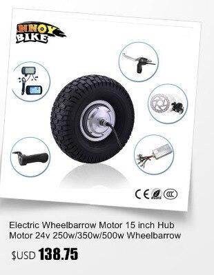 rodas elétrica do motor 48 v 350