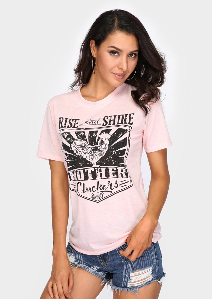 Summer Fashion Letter Print Mom Heart Women T-Shirt O-Neck Casual Short Sleeve T Shirt Female Clothing Punk Tee Tops
