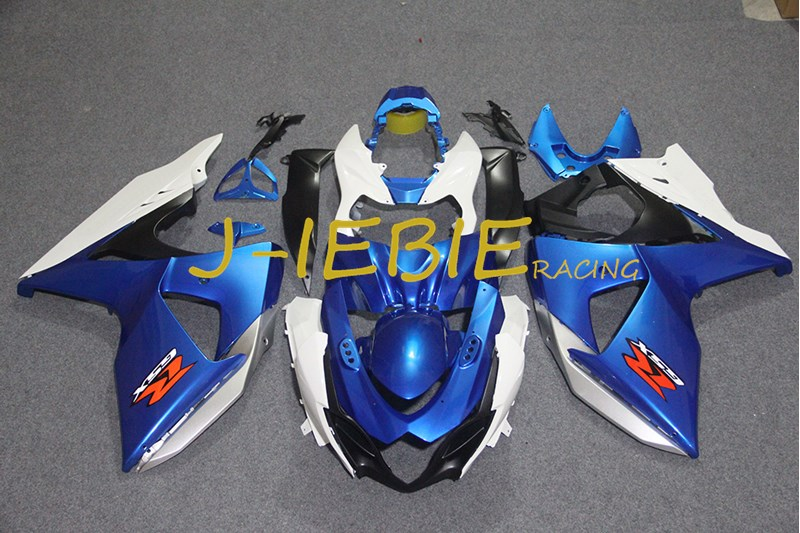 Blue white black Injection Fairing Body Work Frame Kit for SUZUKI GSXR 1000 GSXR1000 K9 2009 2010 2011 2012 2013 2014 2015