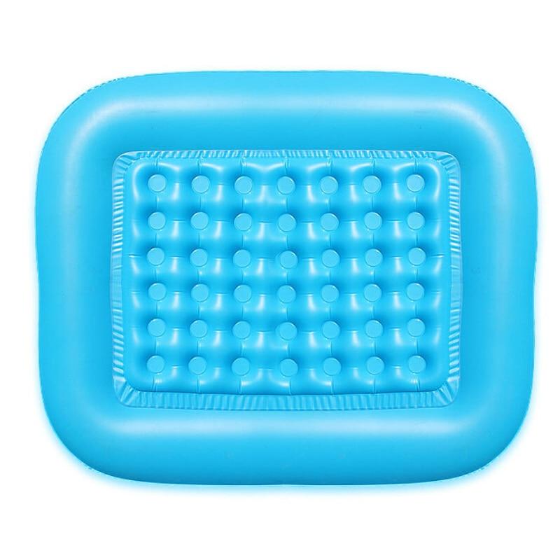 4th изоляции пола надувные площади пластиковые безопасности внизу надувной без запаха Baby Swimmer новорожденных Ванна Плавательный Бассейн