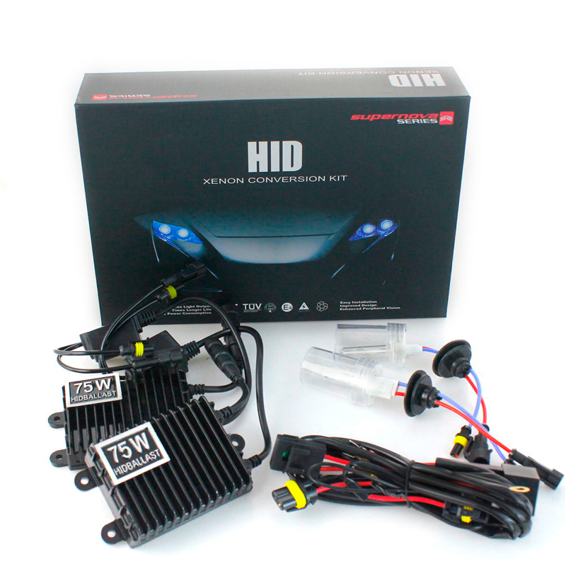 Xenon H7 HID Xenon Kit H1 H3 75W H11 HB3 HB4 880 881 Single Xenon Conversion Light 3000K 4300K 5000K 6000K 8000K 10000K 12000K