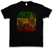 LION OF JUDAH III T-SHIRT Bob Rasta Reggae Marley Jamaica Rastafari Irie Ska Harajuku Tops Fashion Classic Unique t-Shirt цена в Москве и Питере