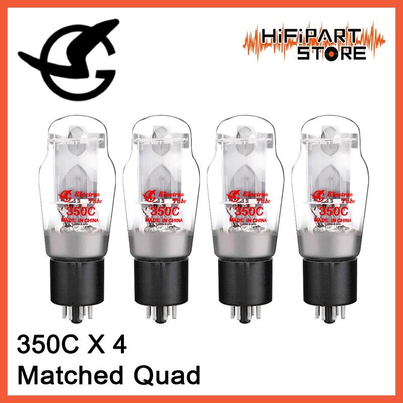 4pcs Shuguang 350C Valve Matched Quad Tube amplifier accessories Repalce EH JJ SVETLANA 6P3P 5881 6L6