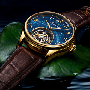 Image 2 - Original Seagull Tourbillonนาฬิกาผู้ชายSapphire Starry Sky Dial KOPECK Tourbillon MensนาฬิกาOrologio Uomo