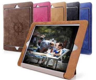 Fashion PU Leather Cover Case for Apple iPad Pro 9.7 inches Cover for iPad Pro 9.7 Tablet Protector Cace+Screen Film+Pen+OTG