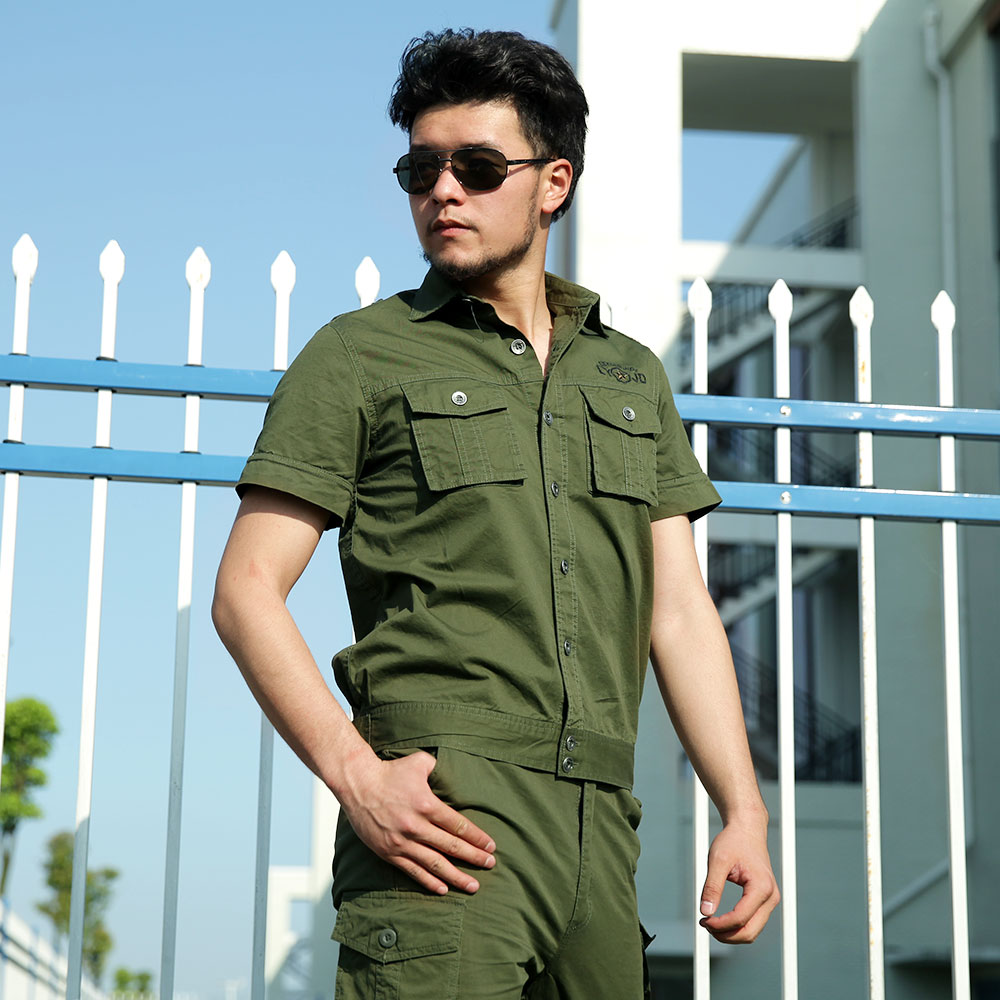 Outdoor Summer Hunting camping Clothing Mens Military Training Tactical Camouflage Suit 101 Airborne Division Army Uniforms Sets outdoor angel army fans military clothing camouflage suit wear cotton uniforms work service tactical training set jacket pants