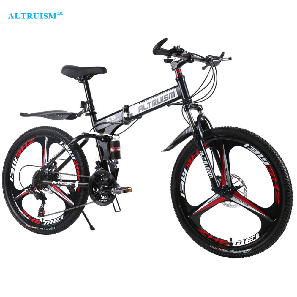 Altruism X9 Pro 21 Speed Steel MenS Road Bike Cycling Mountain Bicycle Double Disc Brake 26 Inch Men & Women