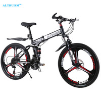 Altruism X9 Pro 21 Speed Steel Men'S MTB Bike Outdoor Cycling Mountain Road Bicycle Bisiklet Double Disc Brake 26 Inch Bicicleta