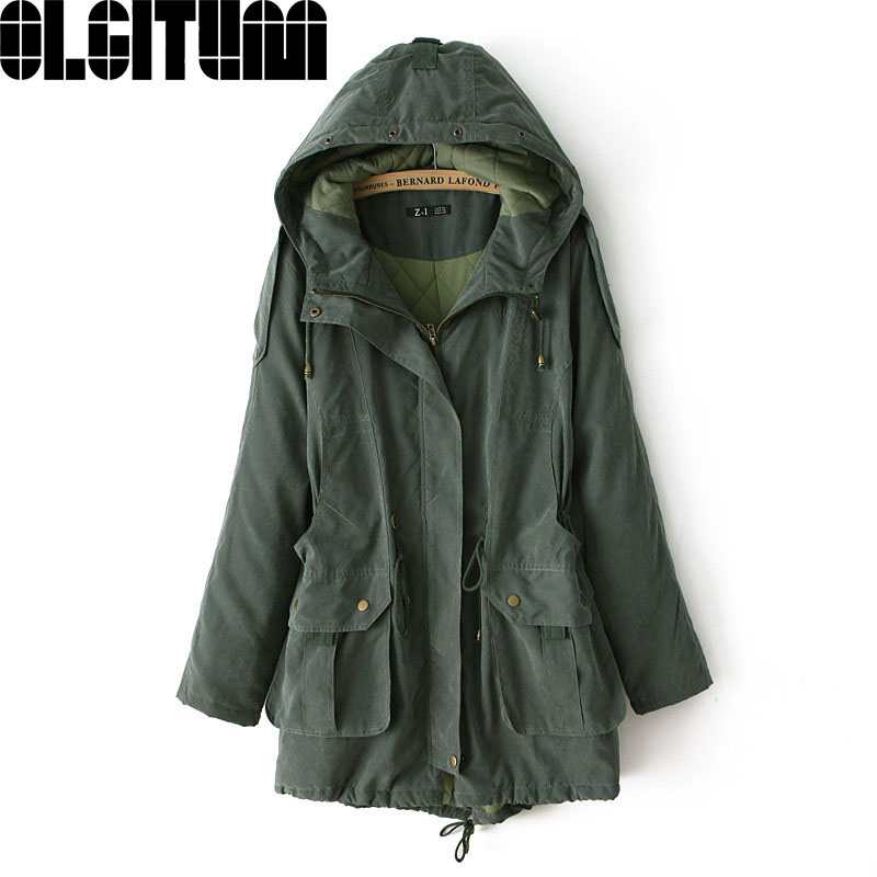 Hot Selling 2017 new fashion female cotton Hoodie Size hot button zipper jacket