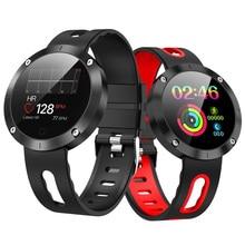 Купить с кэшбэком Smart Watch DM58 Plus IP68 Waterproof Heart Rate Monitor Blood Pressure Smartwatch Swimming Men Women Sport Fitness Watch DM58S