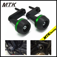 MTKRACING For Kawasaki ER 6N 2009 2011Motorcycle Accessories Frame Crash Pads Engine Case Sliders Protector ER