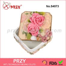 Rose Square Box silicone soap mold silicone plaster mold food grade silicone rubber material