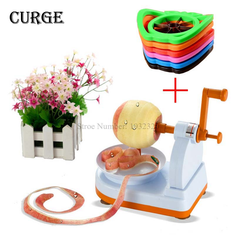 2016 Multifunction Fruits Apple Peeler Potato Peeling Automatic Machine Cut Apple Device Hot Sale Friut Tools