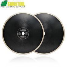 цена на SHDIATOOL 2pcs Dia 350mm/14 Hot-pressed Continue Rim Diamond Blades Cutting Disc Porcelain Tile Ceramic Marble Saw Blade Disk