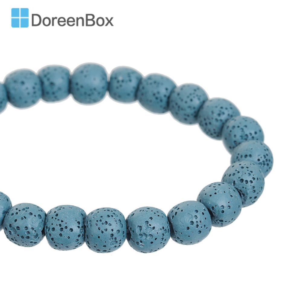 5pcs Unique Turquoise Stone Beads Buddha Head Beige Loose Spacer Beading 28x20mm