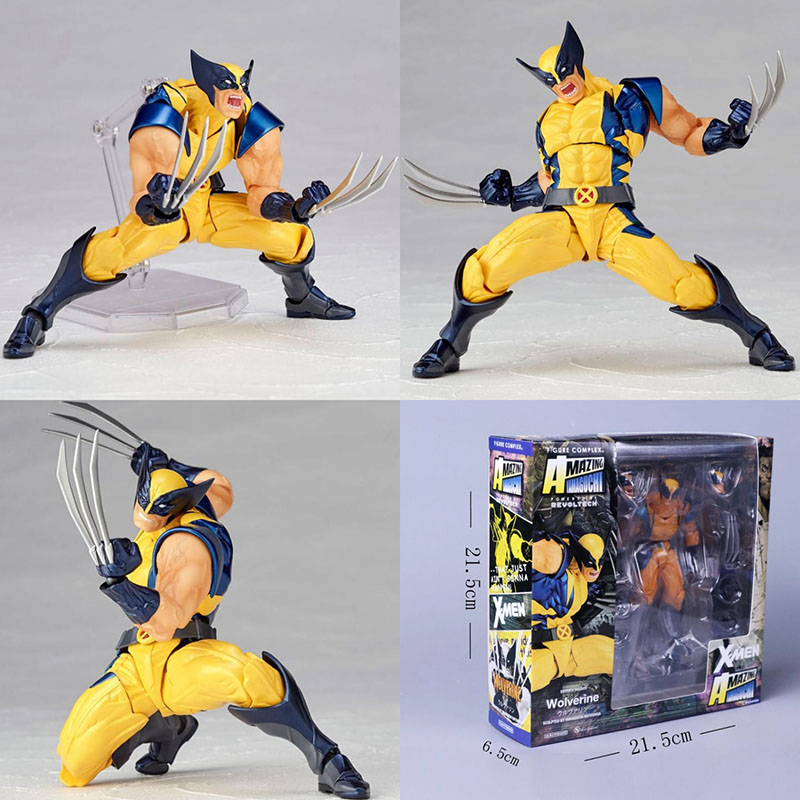Wolverine Action Figure with Variable Parts 6