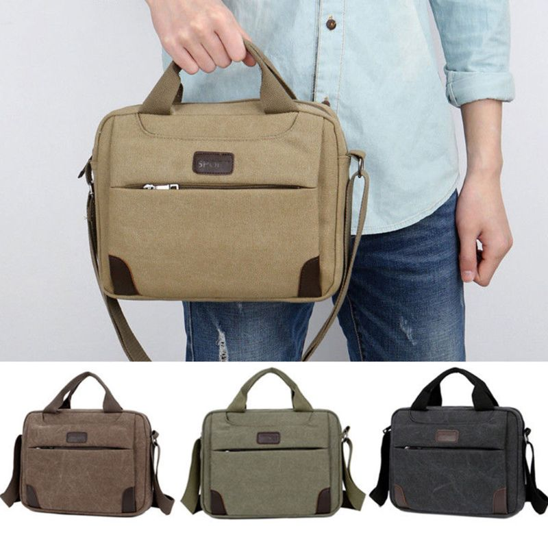 Canvas Crossbody Hiking Military Messenger Sling Shoulder Bag Satchel Handbags