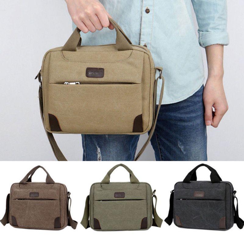 Canvas Crossbody Hiking Military Messenger Sling Shoulder Bag Satchel Handbags